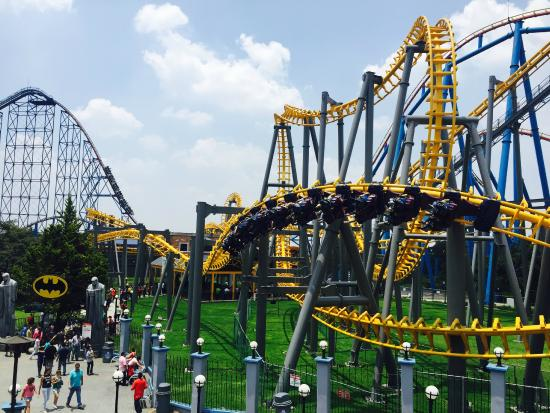 Batman Picture Of Six Flags Mexico Mexico City