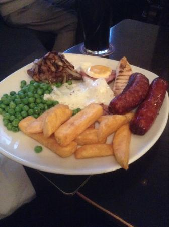 Kilsby, UK: Divine mixed grill