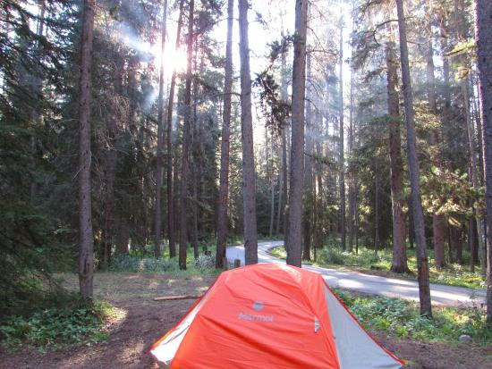 of Johnston Canyon Campground, Banff National Park  TripAdvisor