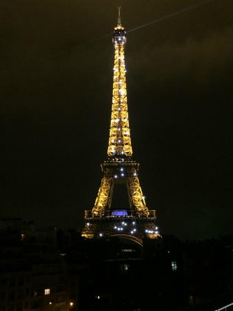 Eiffel Tower Picture Of Les Ombres Paris TripAdvisor