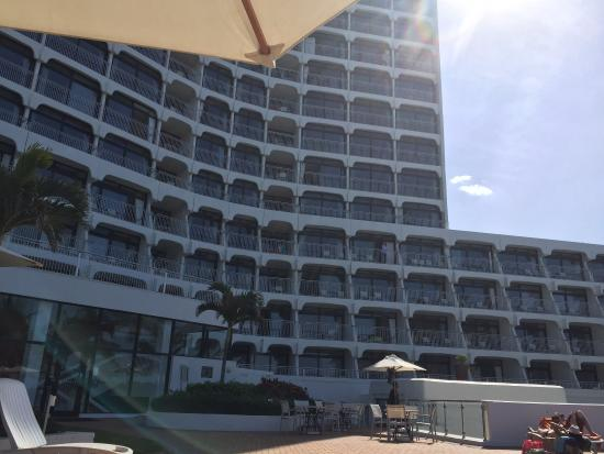 uMhlanga Sands Resort: A view of the Sands hotel