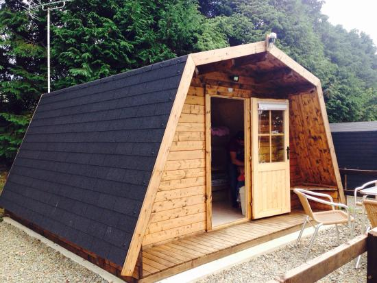 St Martin, UK: The pod me my husband and our two daughters ages 16 months and 6 years old stayed in Sunday 16th