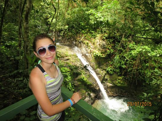 Uvita Waterfall: .