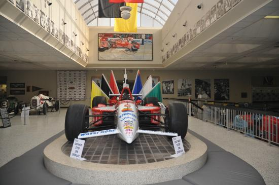Hall Of Fame Picture Of Indianapolis Motor Speedway And