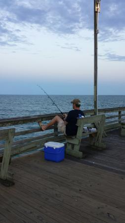 Bogue inlet fishing pier picture of bogue inlet fishing for Fishing report emerald isle nc