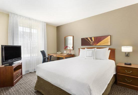 Two Bedroom Suite Master Bedroom Picture Of Towneplace Suites Salt Lake City Layton Layton