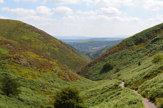 carding mill valley and the long mynd national trust