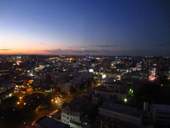 view from room picture of meriton serviced apartments. Black Bedroom Furniture Sets. Home Design Ideas