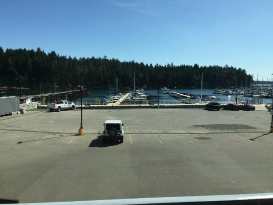 Waterfront Suites and Marina: View of the harbor