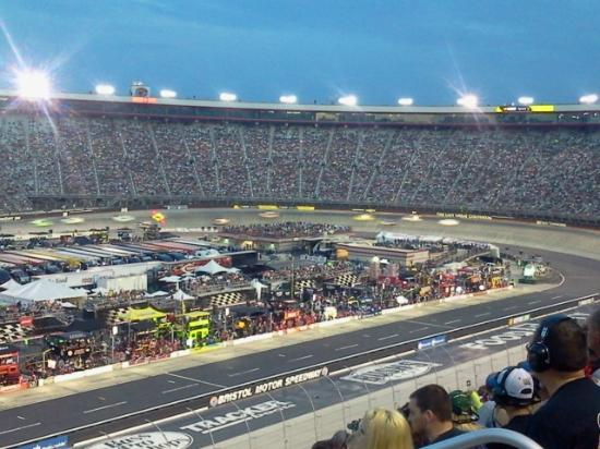 View Of Pit Row Picture Of Bristol Motor Speedway