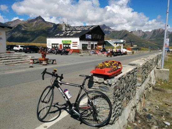 Seez, France: top of the Col