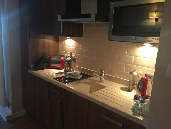 kitchenette picture of the whitbarrow hotel troutbeck tripadvisor