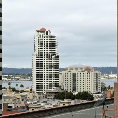 The Westin San Diego Gaslamp Quarter: View from room facing the bay