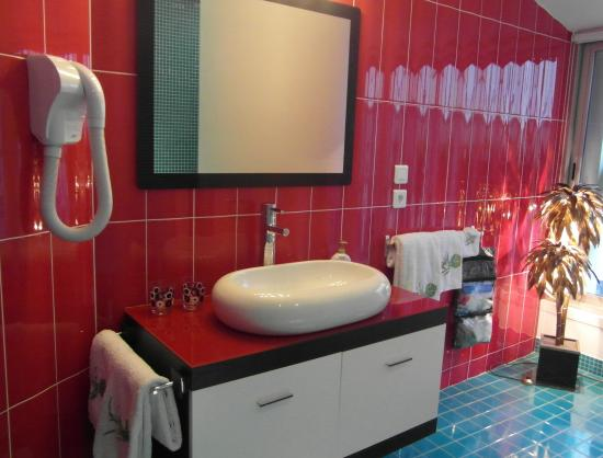 Bathroom in babylon for Chambre d hotes lyon