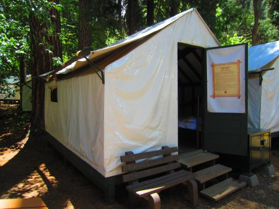 Tent cabin picture of curry village yosemite national for Curry village cabins yosemite