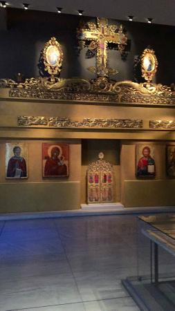 one of the exhibits - Picture of Museum of Byzantine ...