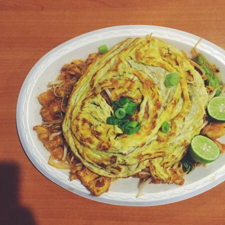 Mee siam very tasty malaysian dish very affordable and for Asian cuisine tulsa ok