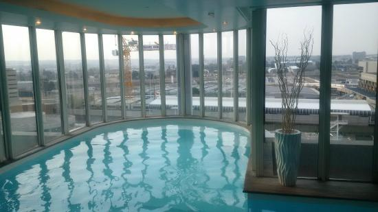 Hotel Indoor Pool With Great Views