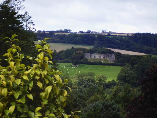 Lostwithiel, UK: From across the valley