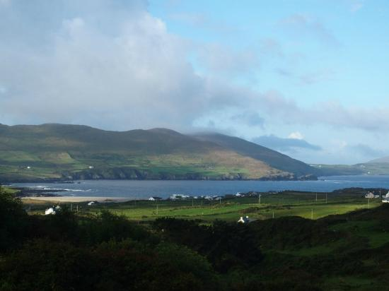 View from Room No 4 @ The Seaview Guesthouse, Allihies, Co. Cork.