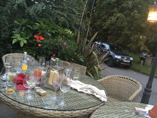 Blackboys, UK: Another table uncleared
