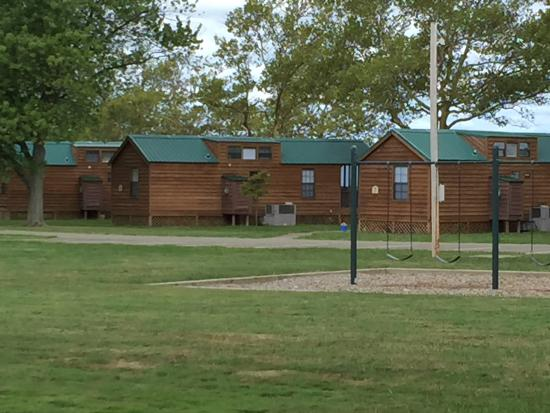 Cabins Near The Camping Grounds