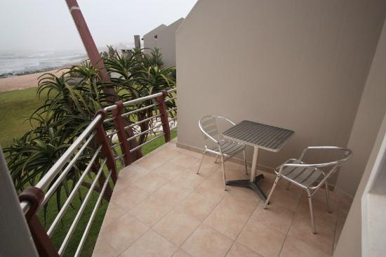 Beach Lodge Swakopmund: Private balcony
