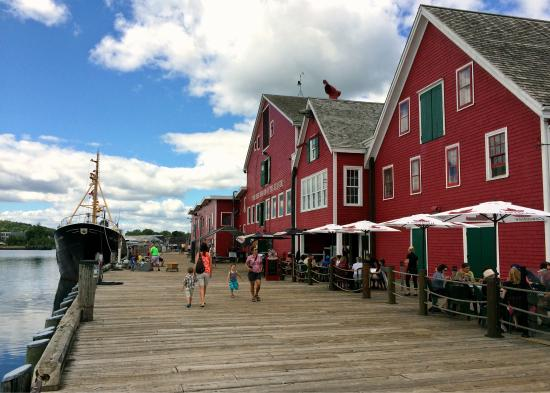 The fisheries museum has a lot to offer everyone on the lunenburg wharf!