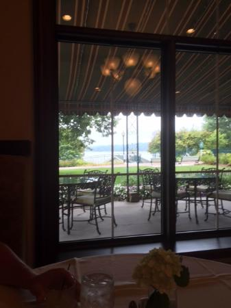 Elkhart Lake, Висконсин: view to outdoor dining