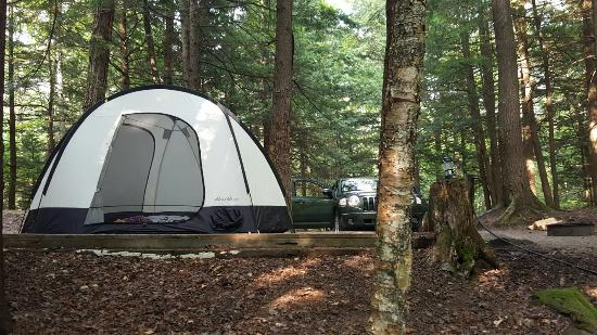 Lost river valley campground woodstock nh campground for Cabin camping new hampshire