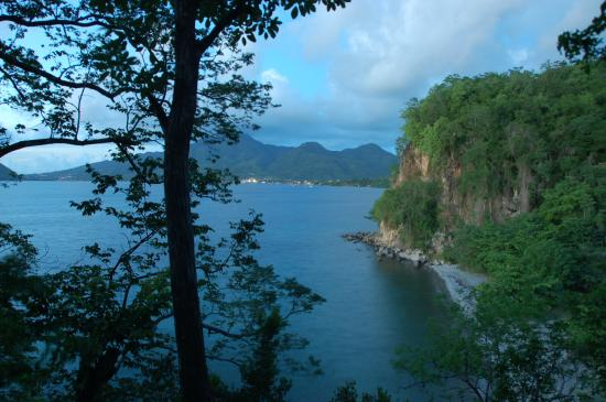 Secret Bay: Balcony view from our cottage