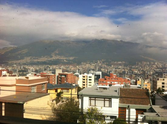 city view from my room picture of st gallen haus quito. Black Bedroom Furniture Sets. Home Design Ideas