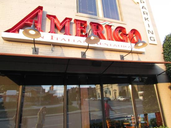 Amerigo front off street parking is available picture for Dining nashville tn