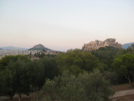 View from Pnyx