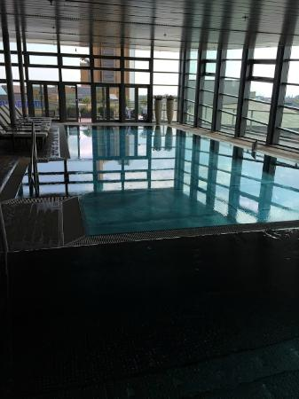 Indoor swimming pool spa picture of grand hyatt berlin - Indoor swimming pool berlin ...