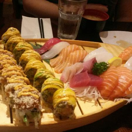 Beautiful Presentation! - Picture of Sima Sushi, Kingston ...