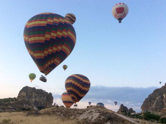 BALLOON - Picture of Urgup Hot Air Balloons, Goreme ...