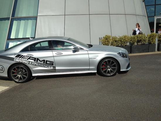C63 amg as taken out as a passenger picture of mercedes for Mercedes benz surrey uk