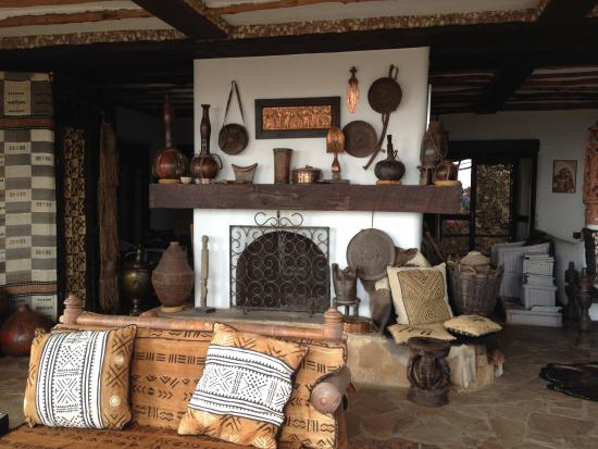 Interior African Heritage House