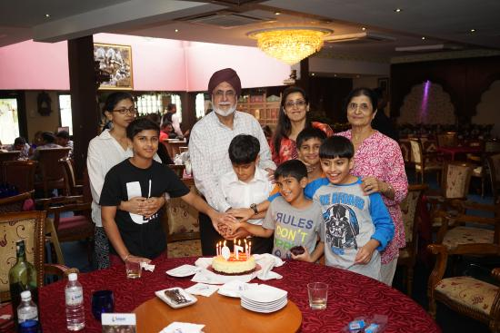 Sagar Restaurant: Cake cutting