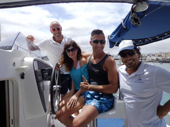 catamarano - Picture of Oby Catamaran, Corralejo - TripAdvisor