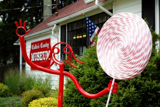 Mountainhome, PA: Callie's Candy Kitchen and Museum