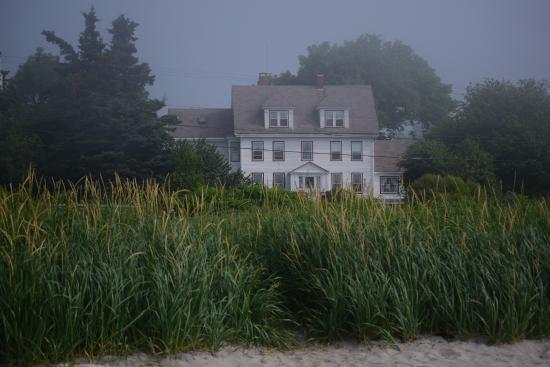 Prospect Harbor, ME: Sea Captains house from private beach