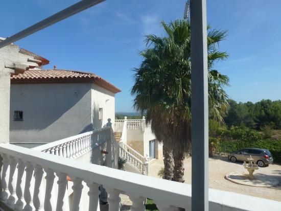 Bages, France: View from room