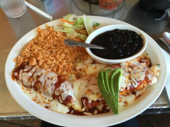 Enchiladas with ranchero sauces for Alejandra s mexican cuisine