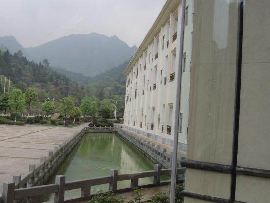 Ruyuan County, China: another side of the hotel building
