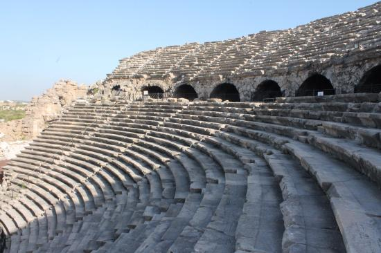 view - Picture of Greek Amphitheater, Side - TripAdvisor