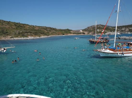 lovely views - Picture of Ozzlife Boat-Tours, Gumbet ...