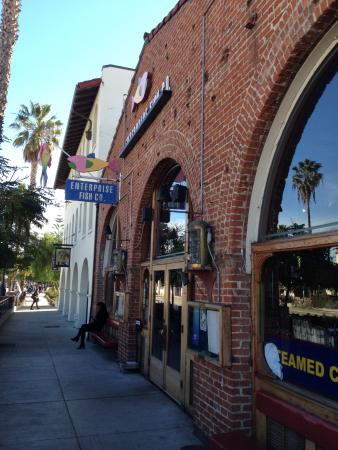 An outside view of enterprise fish company picture of for Enterprise fish co santa barbara