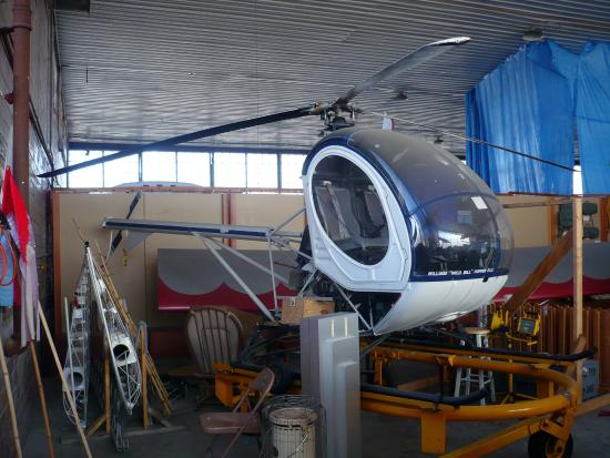 Cahokia, IL: Helicopter On Display At Museum
